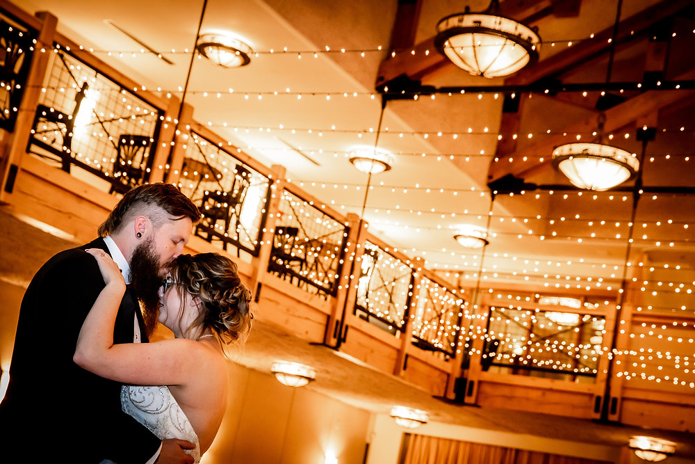 Silverthorne Pavilion Wedding - Colorado Wedding - Winter Wedding - First Dance