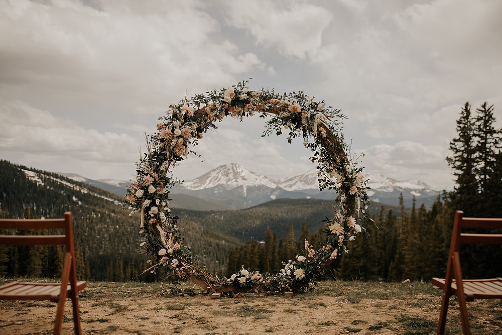 Keystone Wedding Planner - Timber Ridge Wedding - Ceremony Site