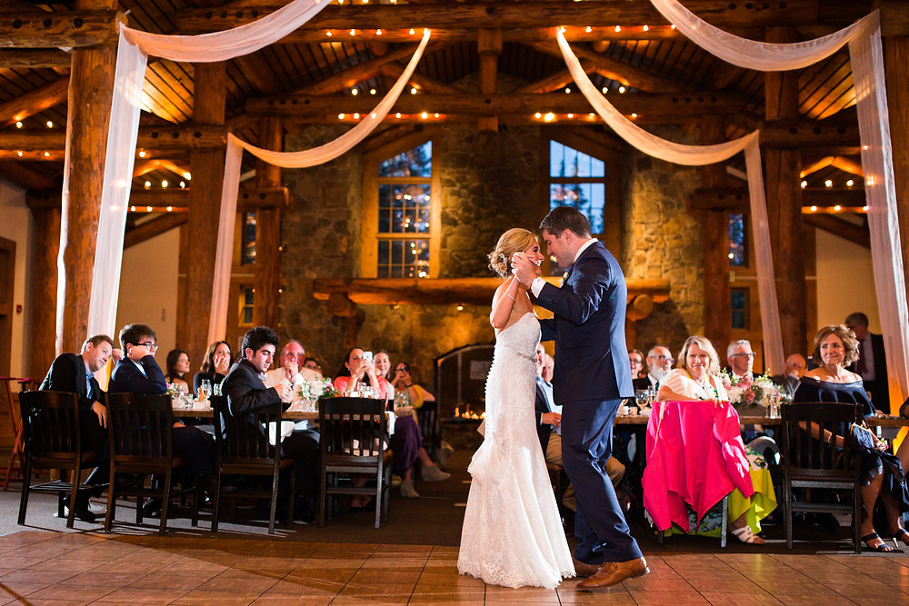 Colorado Wedding Planner - Colorado Wedding Couple First Dance