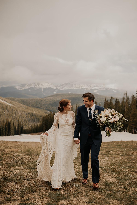 Keystone Wedding Planner - Timber Ridge Wedding - Bride and Groom