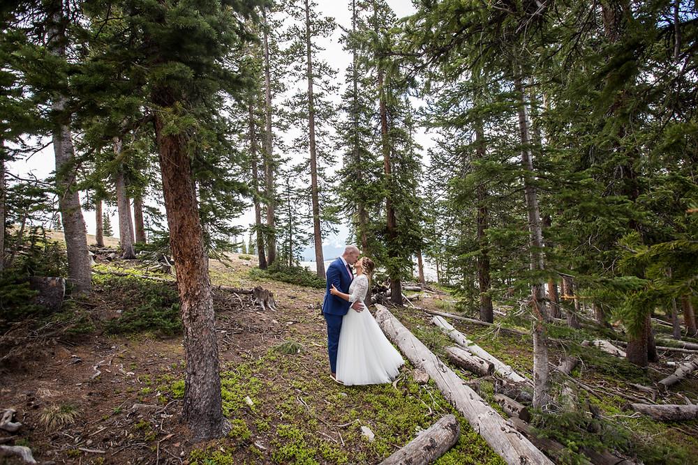 Keystone Wedding, Bride and Groom, Ski Tip Lodge Wedding