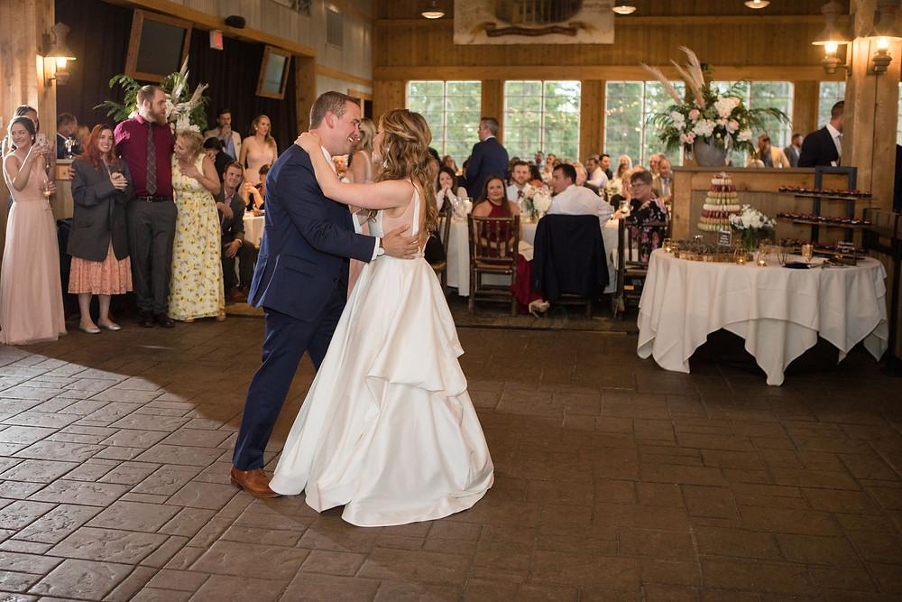 Breckenridge Wedding Planner - Ten Mile Station Wedding - First Dance