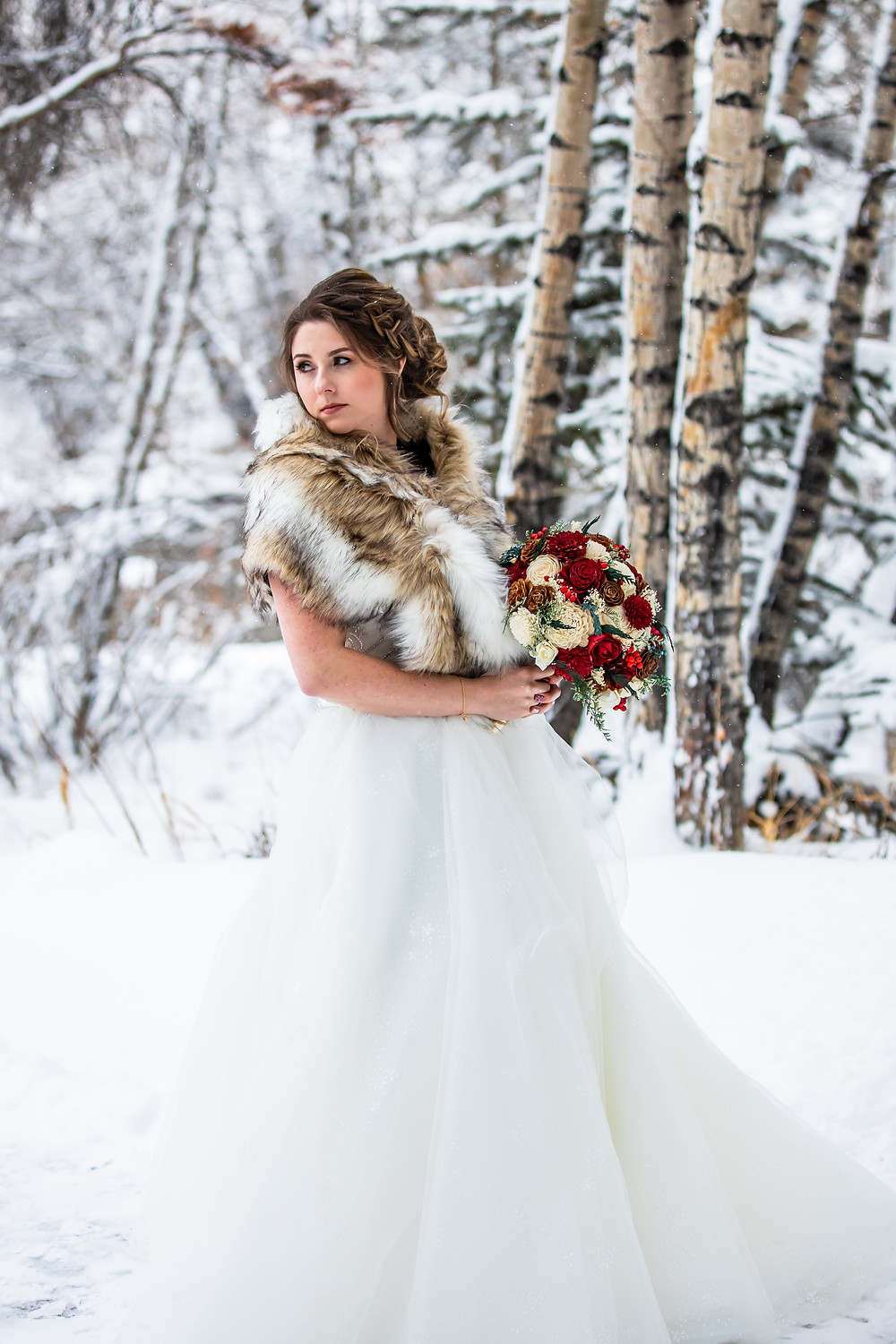 Silverthorne Wedding Planner - Colorado Winter Wedding - Bride