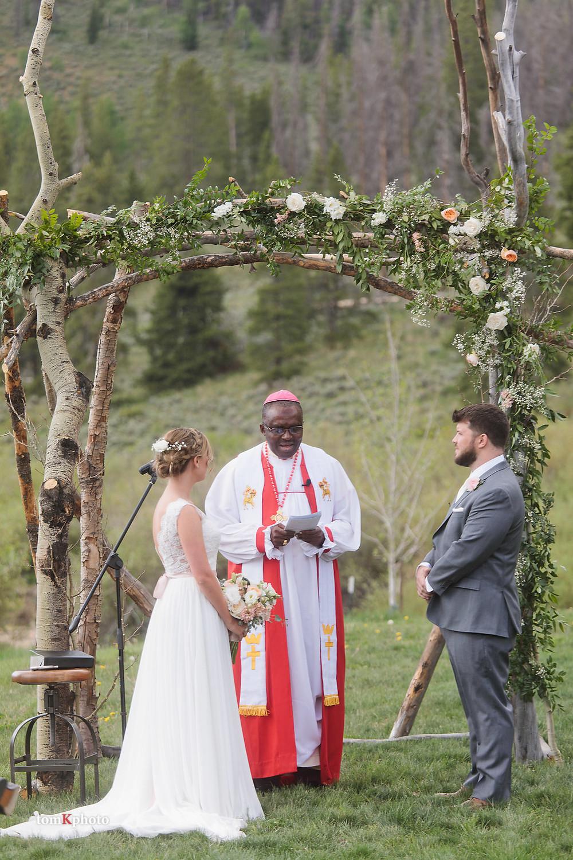 Breckenridge Wedding Ceremony