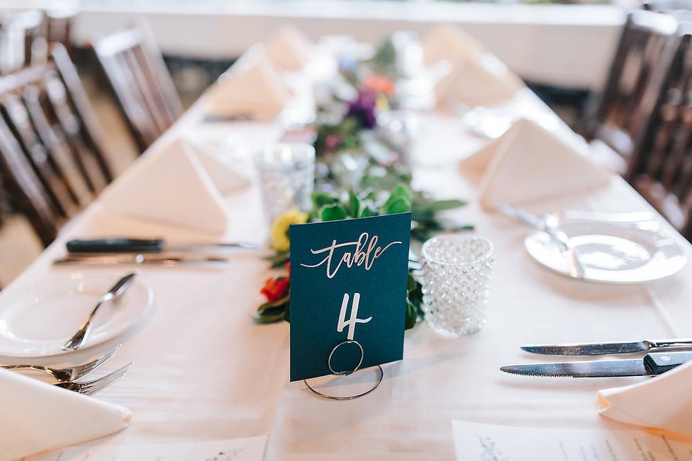 Breckenridge Wedding Planner - Ten Mile Station Wedding - Centerpiece
