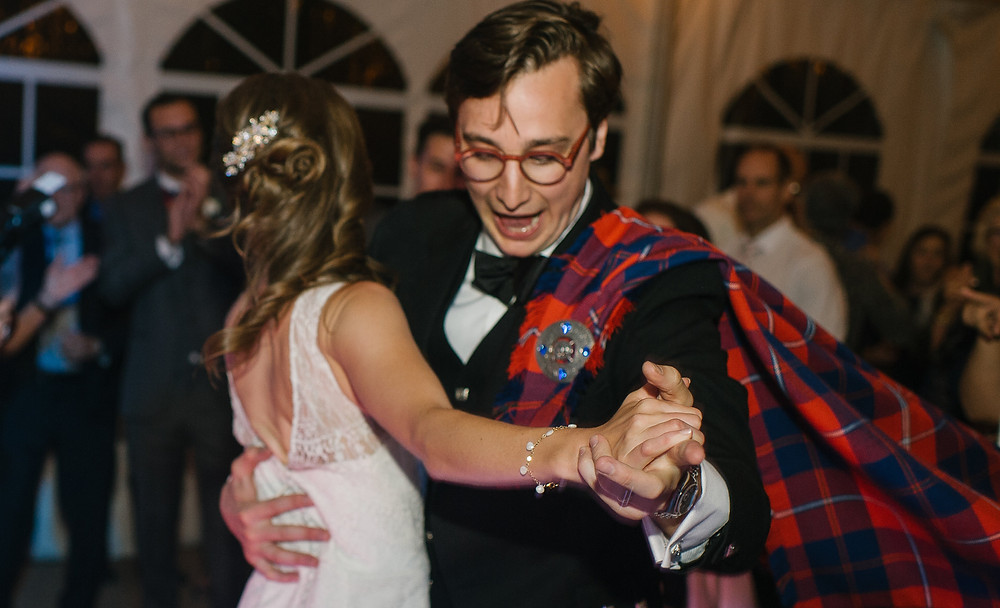 Keystone Wedding Planner - Couple Dancing
