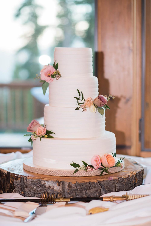 Keystone Wedding - Timber Ridge Wedding - Wedding Cake