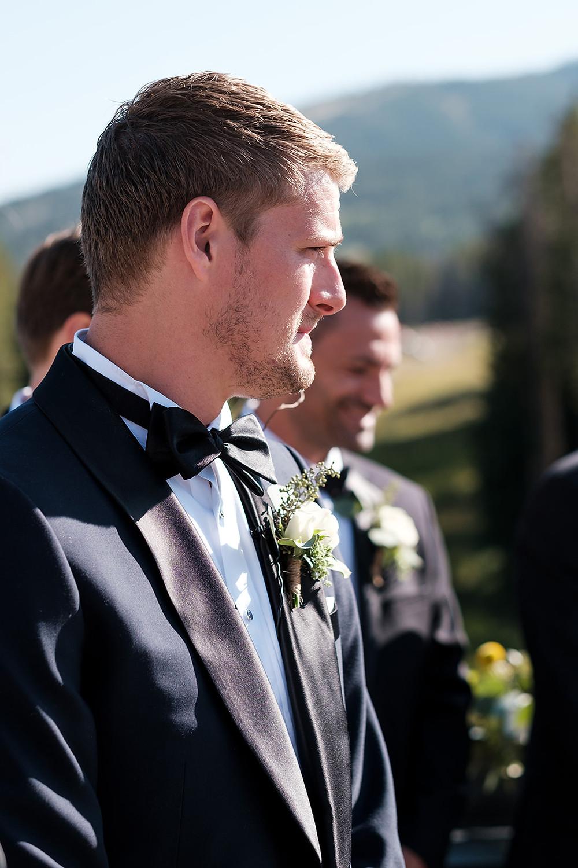 Breckenridge Wedding - Chateau at Breckenridge Wedding - Groom
