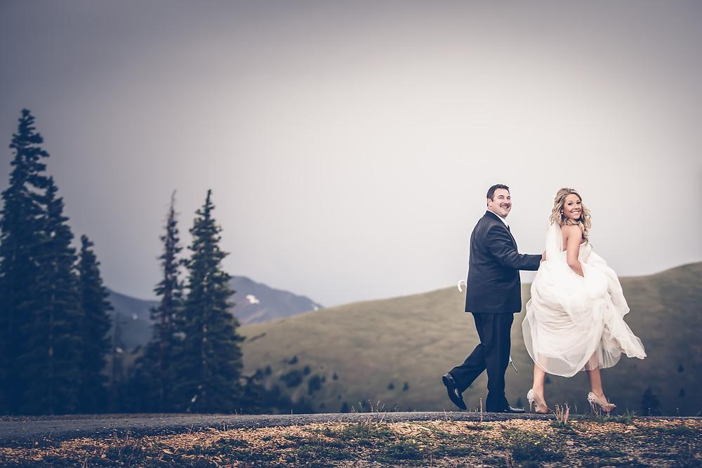 Colorado Wedding Planner - Colorado Happy Couple