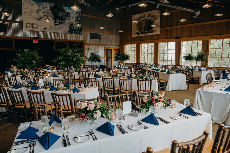 Breckenridge Wedding - Ten Mile Station Wedding - Wedding Reception