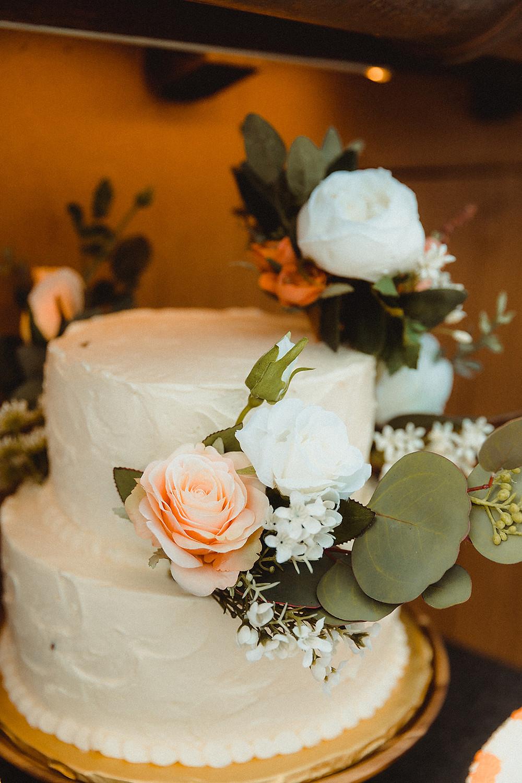 Chateau of Breckenridge Wedding - Wedding Cake
