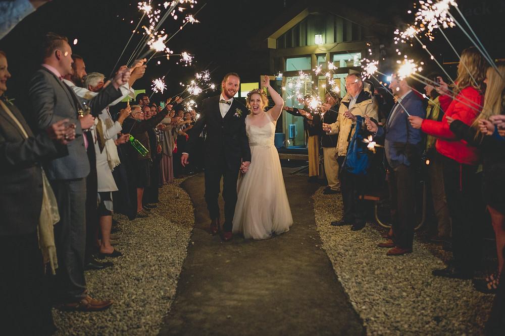 ABasin Wedding Planner  - Sparkler Exit