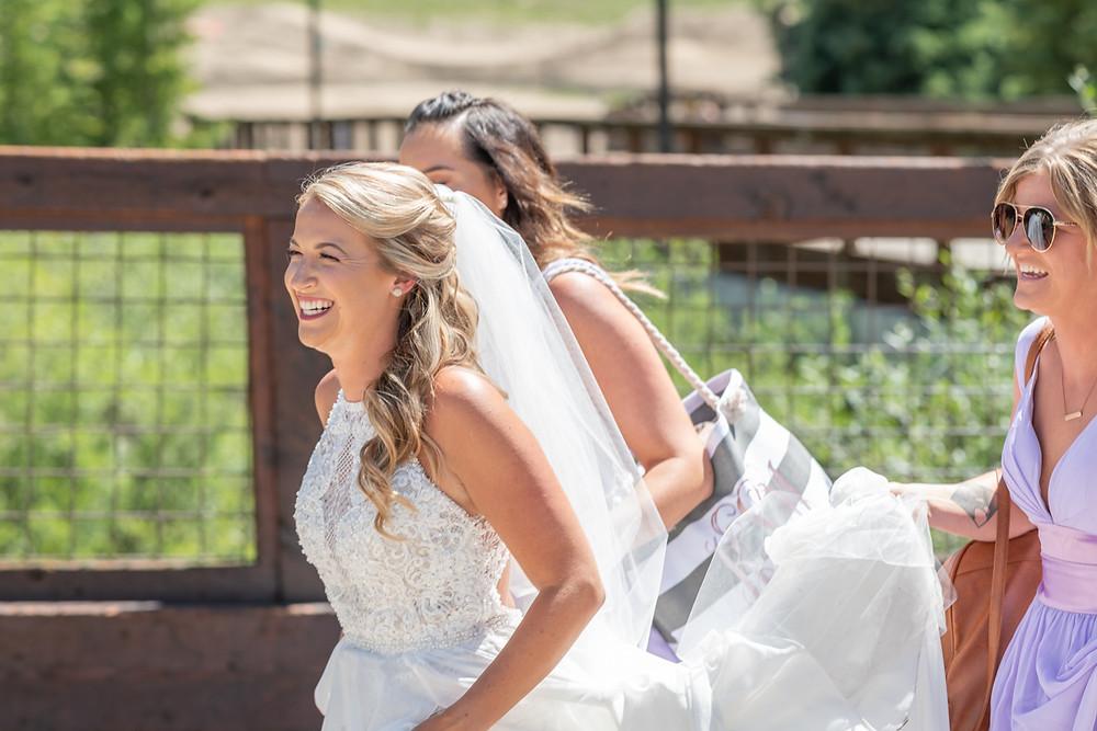 Keystone Wedding Planner - Keystone Ranch Wedding - Bride