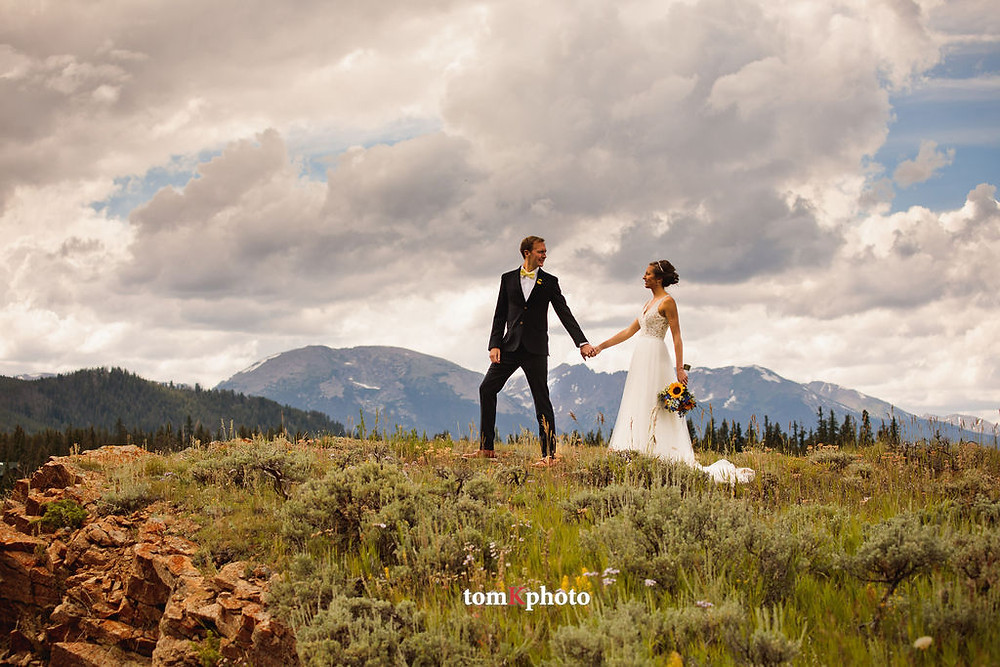 Keystone Wedding Planner - Keystone Ranch Wedding - Bride and Groom