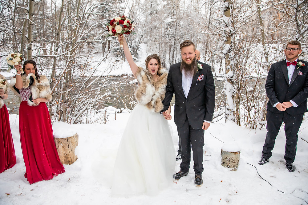 Silverthorne Wedding Planner - Colorado Winter Wedding - Just Married