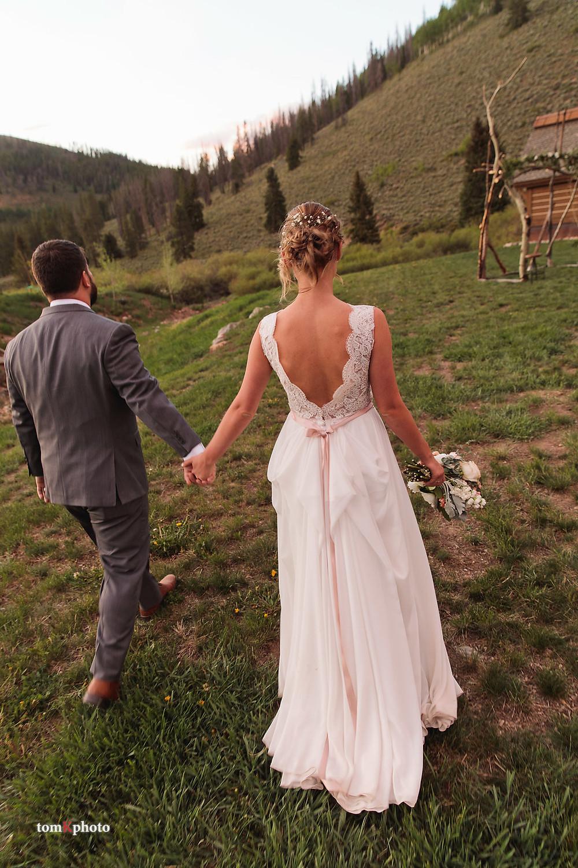 Breckenridge Wedding Couple