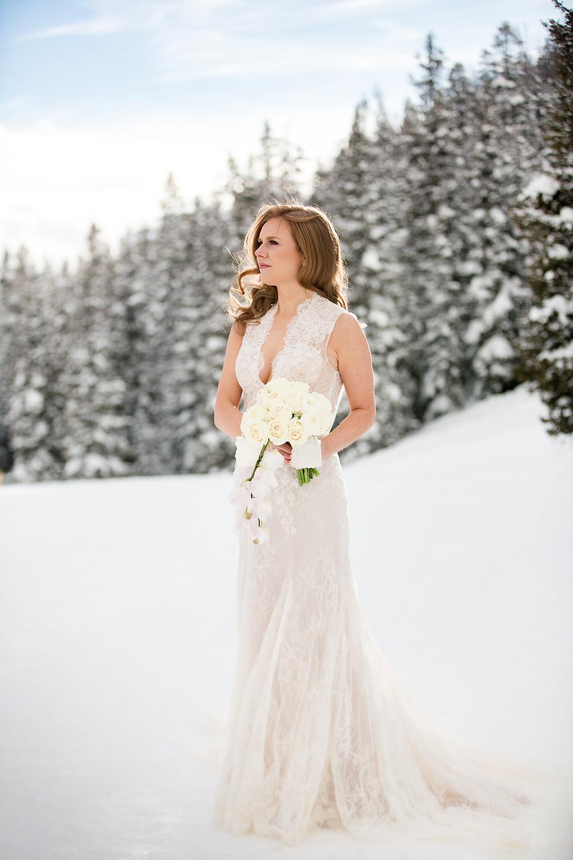 Keystone Wedding Planner - Alpenglow Stube Wedding - Bride
