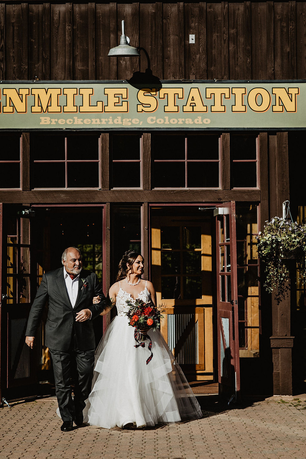 Ten Mile Station Wedding - Breckenride Wedding - Father Daughter