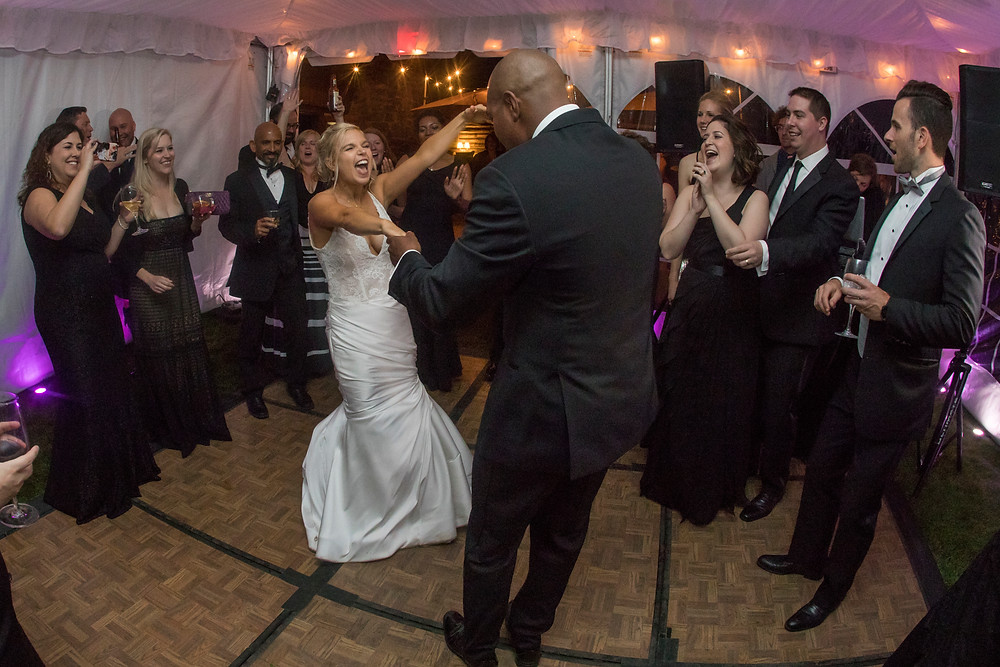 Keystone Wedding Planner - Ski Tip Wedding - Wedding Couple Dancing