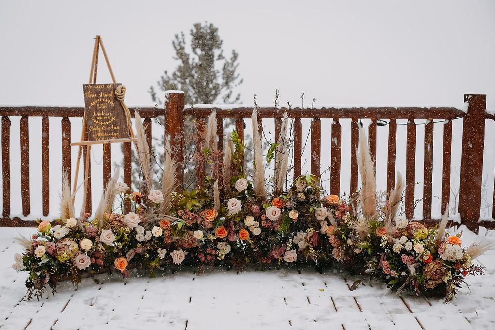 Breckenridge Wedding - Breckenridge Winter Wedding - The Lodge at Breckenridge Wedding - Ceremony Site