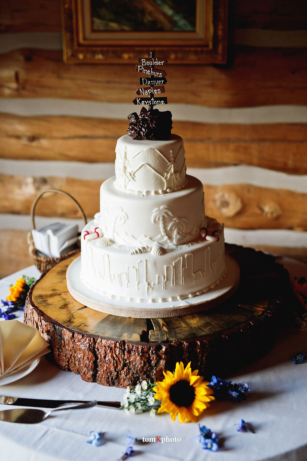 Keystone Wedding Planner - Keystone Ranch Wedding - Wedding Cake