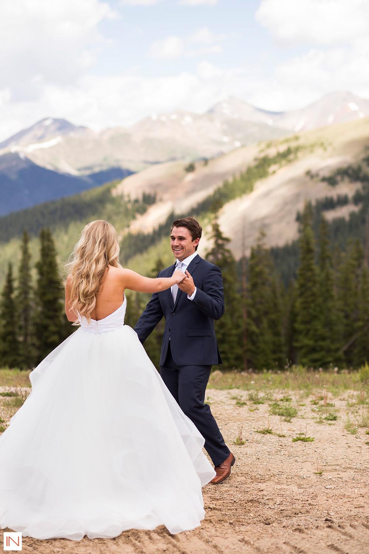 Keystone Wedding, First Look