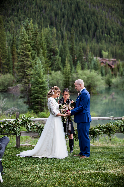 Keystone Wedding Ceremony, Ski Tip Lodge Wedding