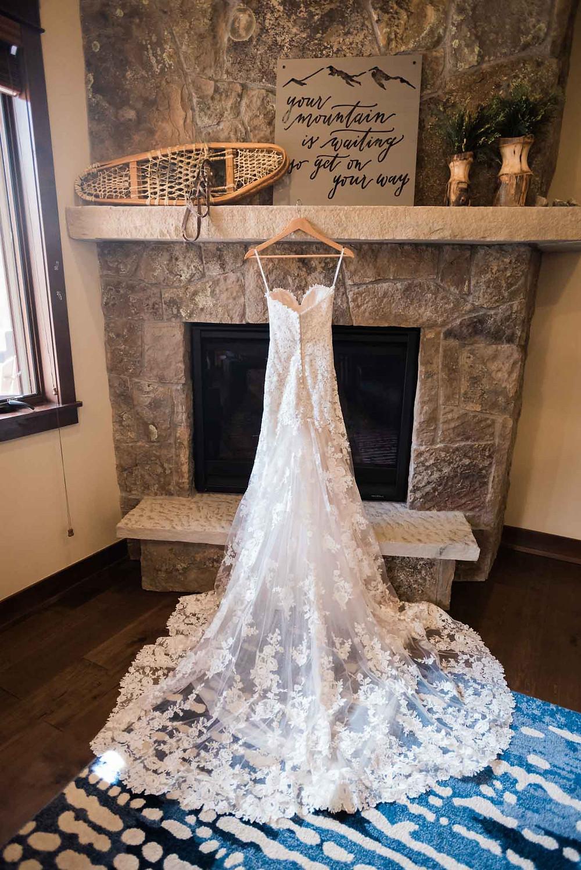 Keystone Wedding - Timber Ridge Wedding - Wedding Dress