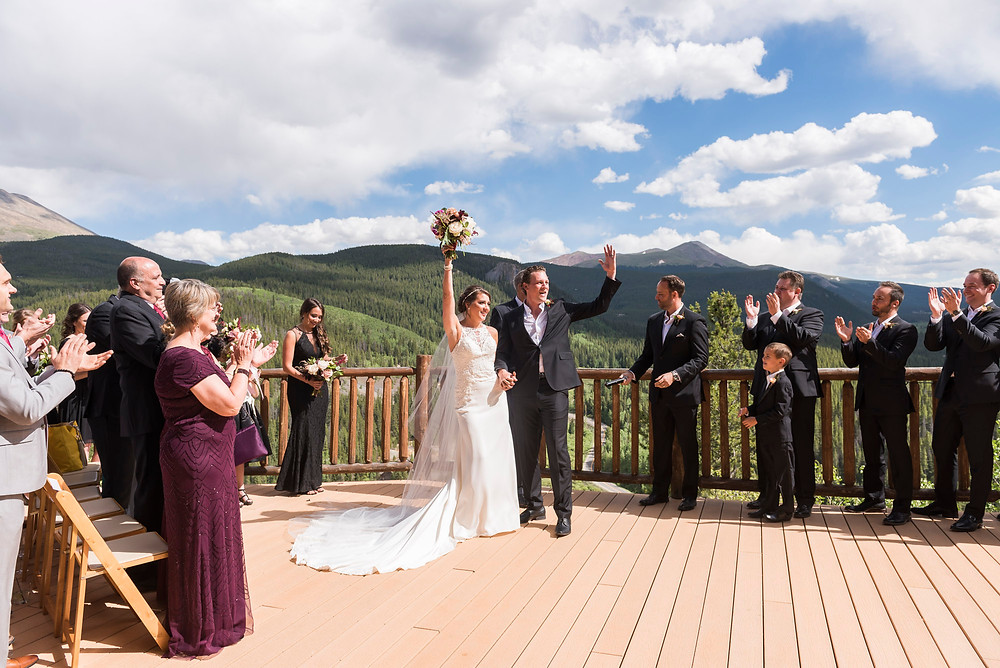Breckenridge Wedding Planner - The Lodge at Breckenridge Wedding - Just Married