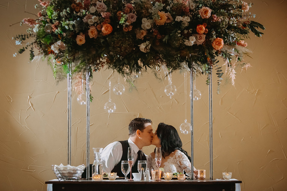 Breckenridge Wedding - Breckenridge Winter Wedding - The Lodge at Breckenridge Wedding - Sweetheart Table