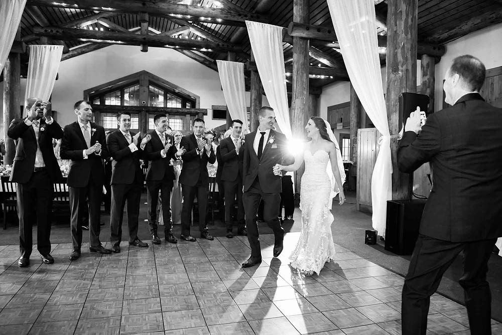 Keystone Wedding - Timber Ridge Wedding - Grand Entrance