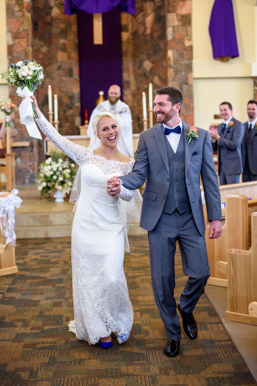 Wedding Ceremony, Married Couple