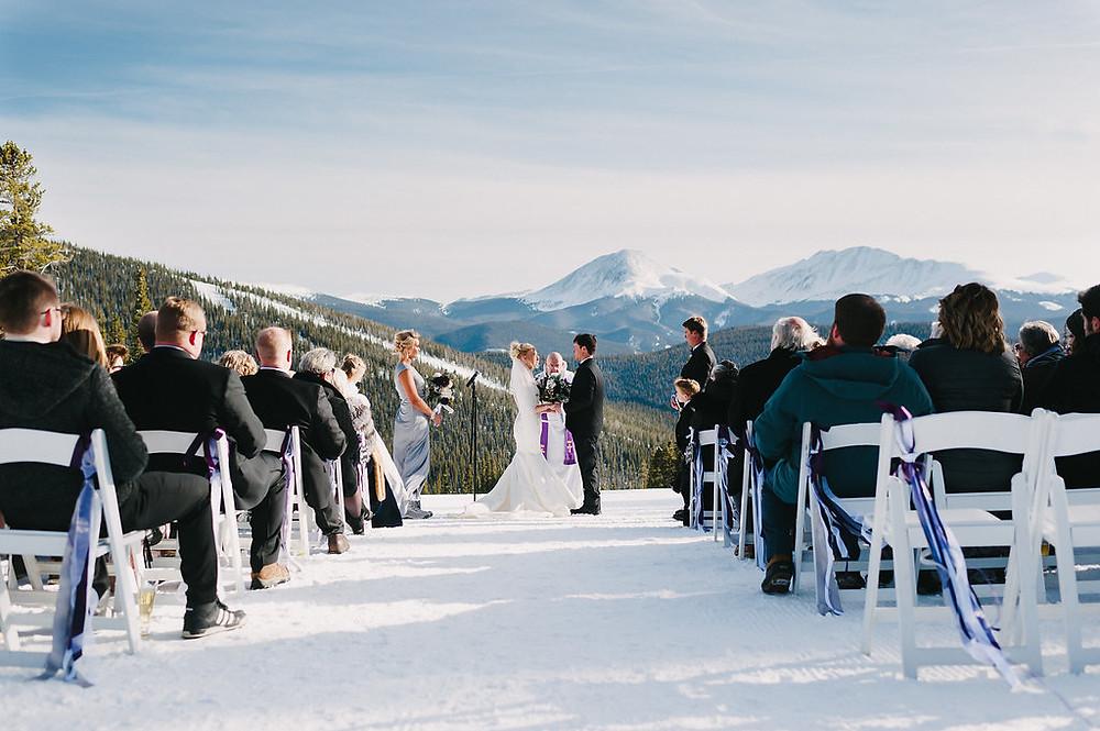 Colorado Winter Wedding - Colorado Winter Wedding Planner