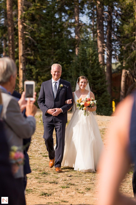 Keystone Wedding Planner - Timber Ridge Wedding - Father Daughter