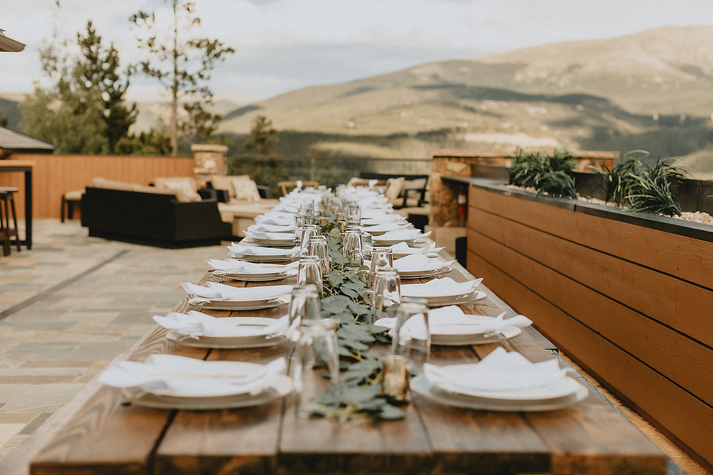 Chateau of Breckenridge Wedding - Breckenridge Wedding - Breckenridge Wedding Reception