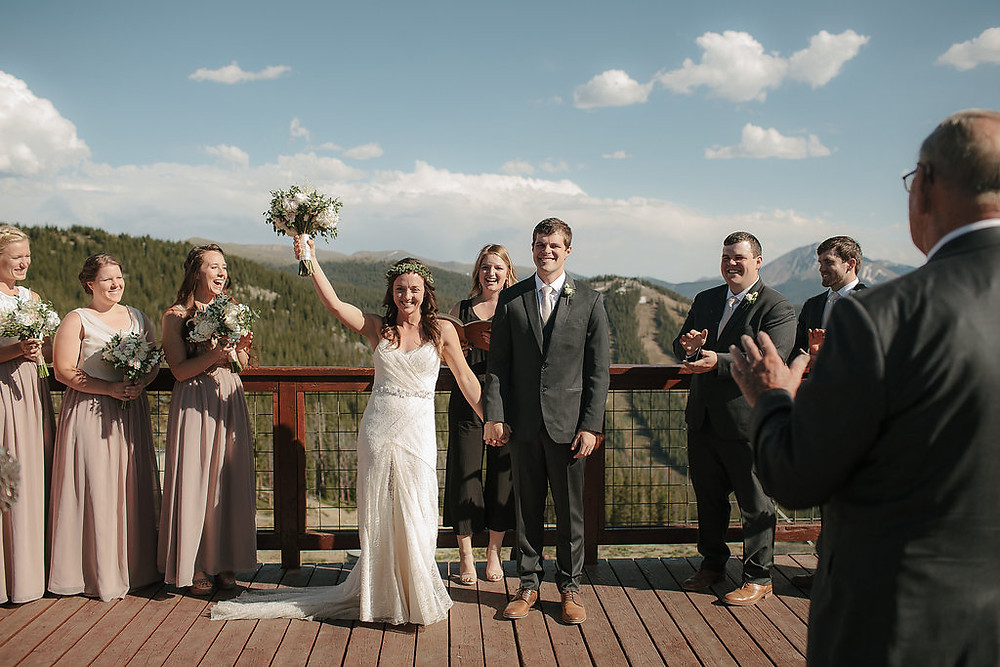 Colorado Wedding Planner - Wedding Couple married