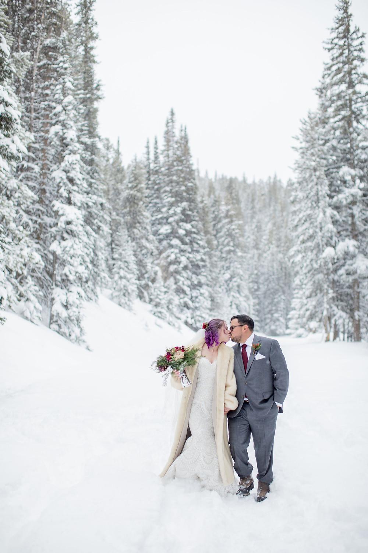 Breckenridge Wedding Planner - The Lodge at Breckenridge Wedding - Wedding Couple