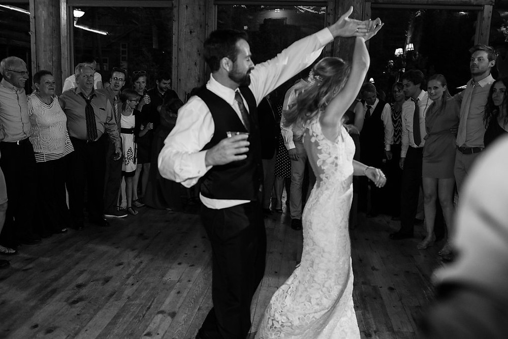 Breckenridge Wedding Planner - Breckenridge Wedding Couple First Dance