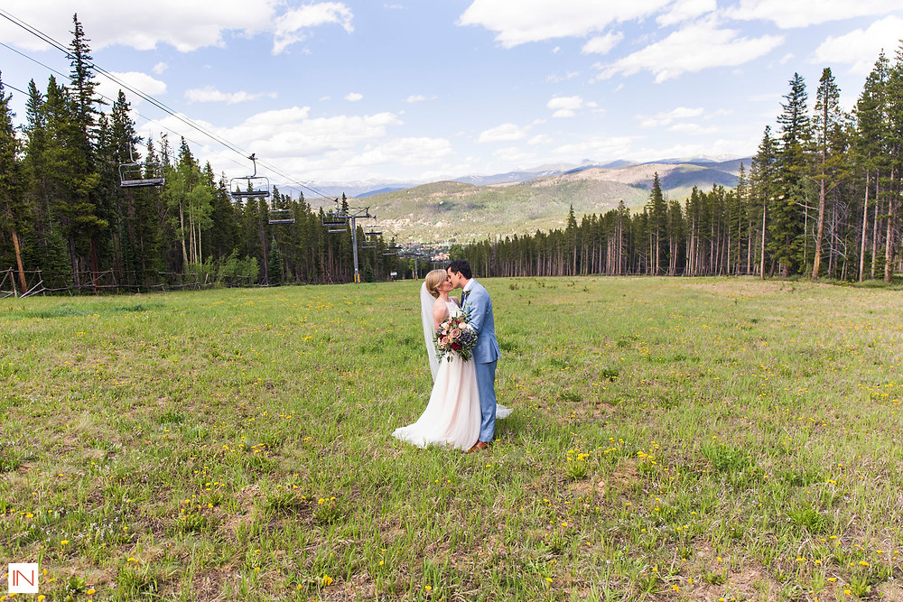 Breckenridge Wedding Planner - Ten Mile Station - Wedding Couple