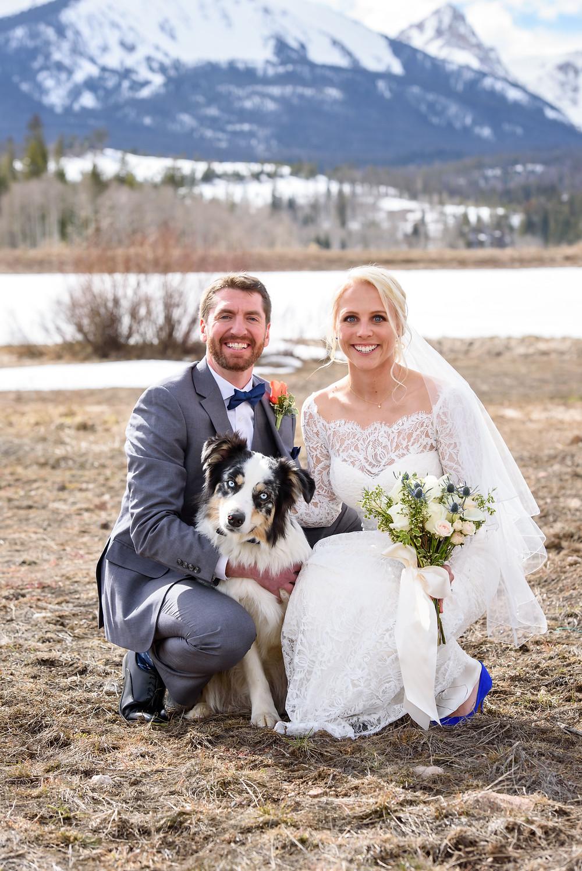 Silverthorne Wedding, Winter Wedding