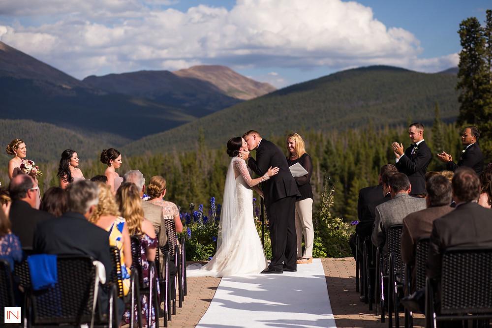 Breckenridge Wedding Planner - First Kiss