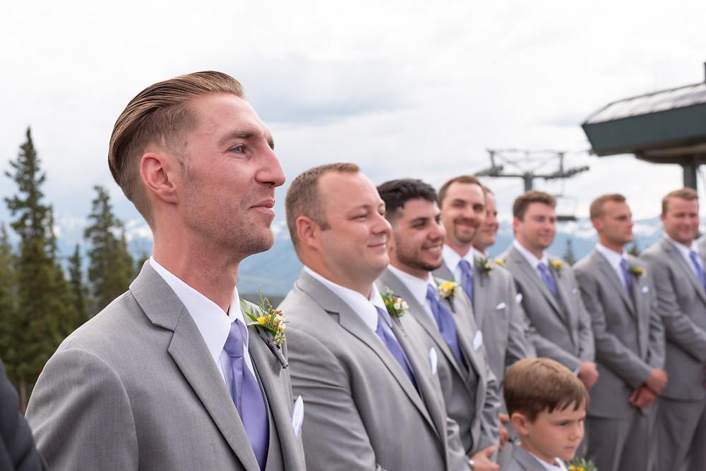 Keystone Wedding Planner - Keystone Ranch Wedding - Groom and Groomsmen