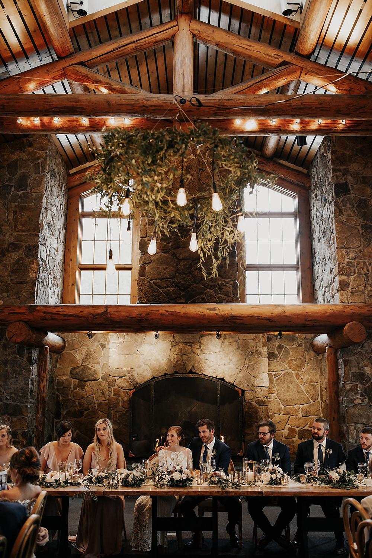 Keystone Wedding Planner - Timber Ridge Wedding - Head Table