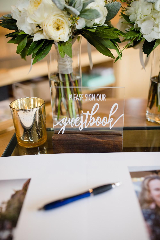Breckenridge Wedding Planner - Ten Mile Station Wedding - Guestbook