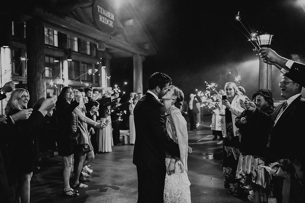 Keystone Wedding Planner - Timber Ridge Wedding- Grand Exit