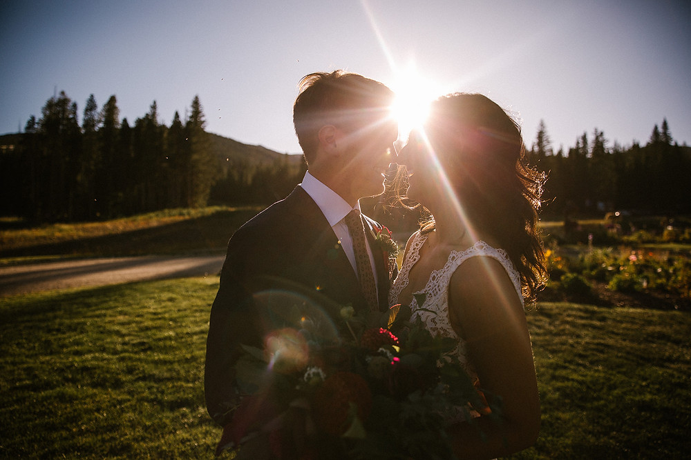 Breckenridge Wedding Planner - Ten Mile Station Wedding - Bride and Groom