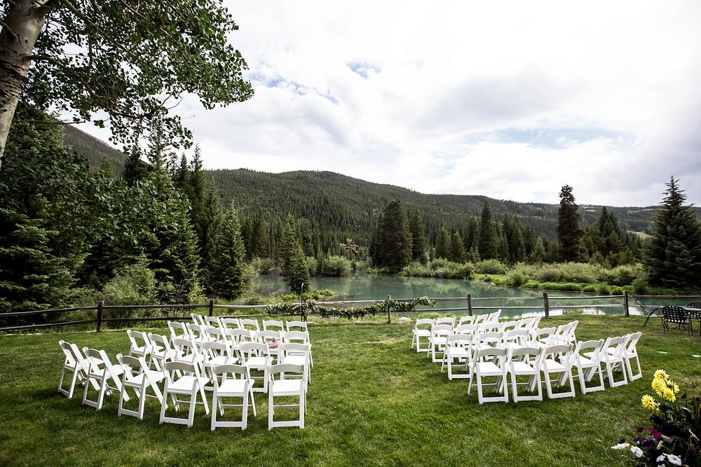 Keystone Wedding Ceremony Site, Ski Tip Lodge Wedding