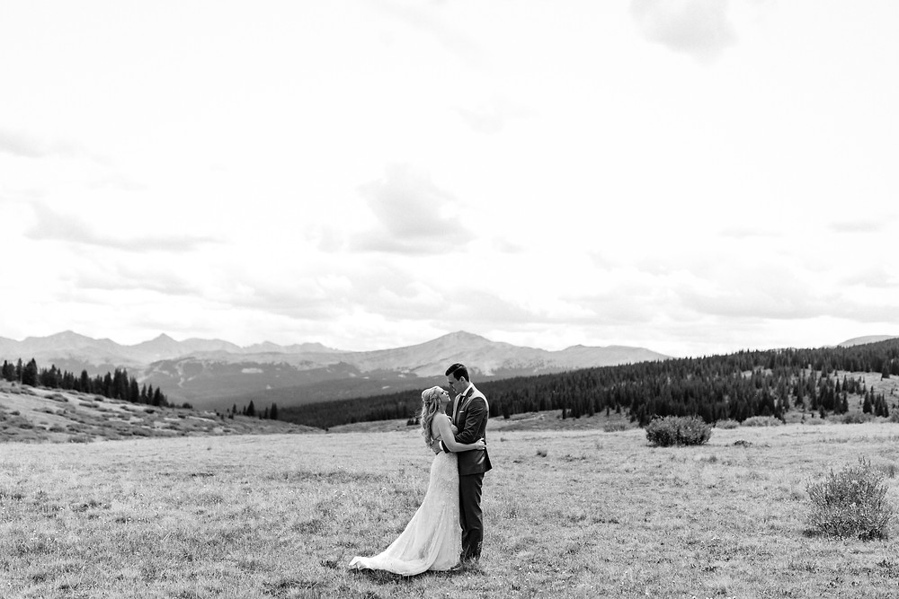 Copper Mountain Wedding Planner - First Look