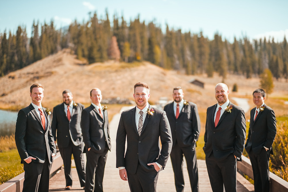 Keystone Wedding Planner - Groom and Groomsmen