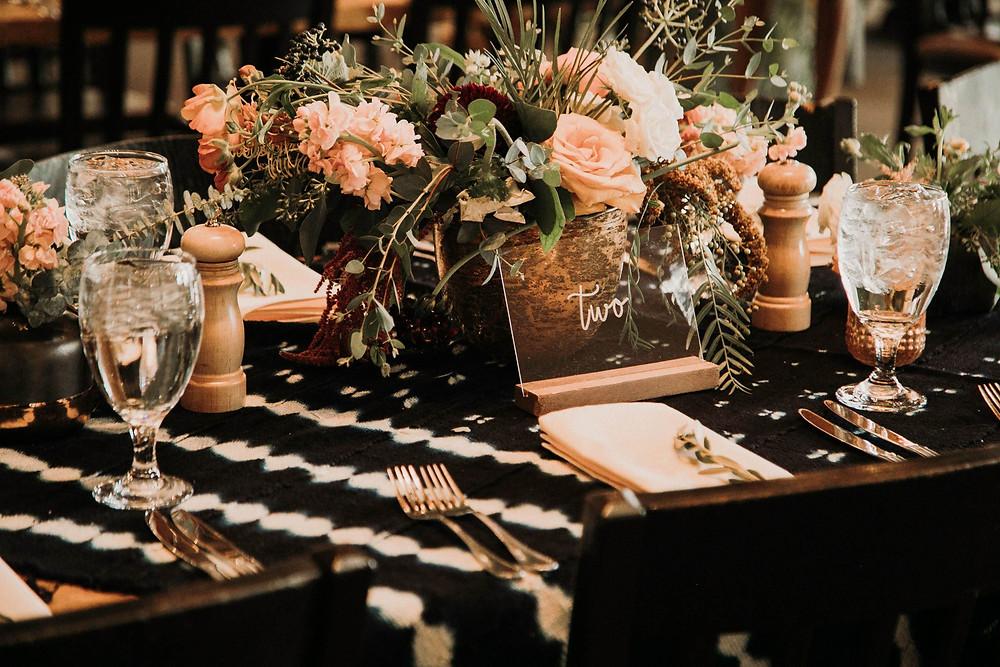 Keystone Wedding Planner - Timber Ridge Wedding - Centerpiece